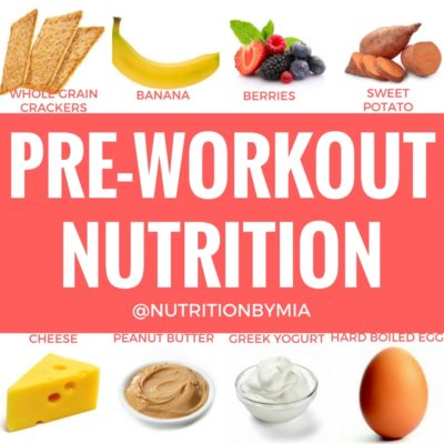 Pre Workout Nutrition By Dietetic Intern Ashley Bannister