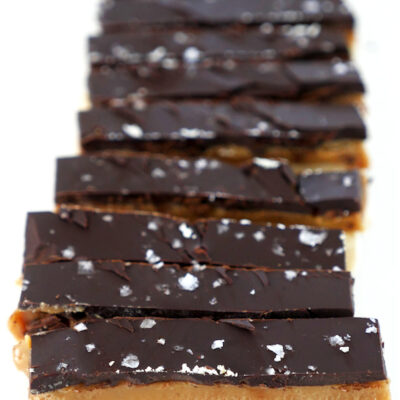 6-Ingredient Healthy Twix Bars