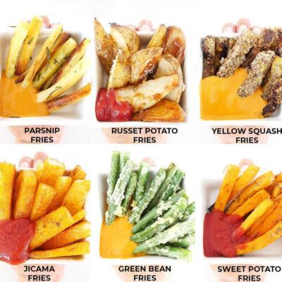 Veggies Fries 8 Ways