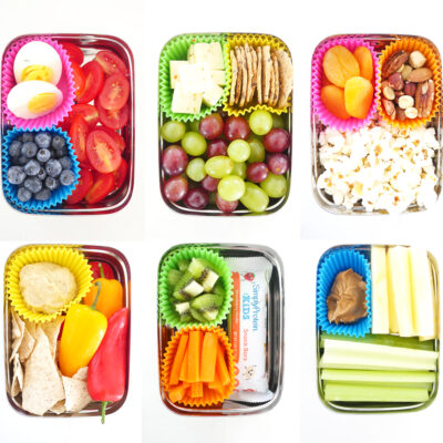 6 Snack Boxes for Kids