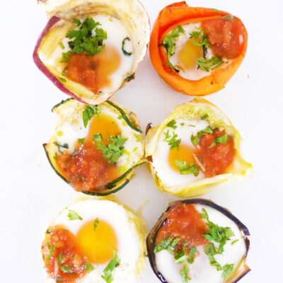 Veggie-Wrapped Egg Cups – 6 Ways