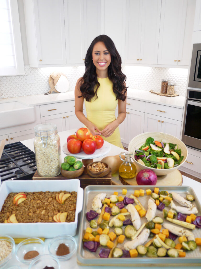 Celebrity Leading Media TV Registered Dietitian Nutritionist Mia Syn, Mazola corn oil