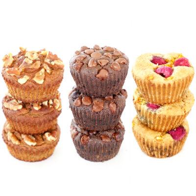 Breakfast Muffins 3 Ways