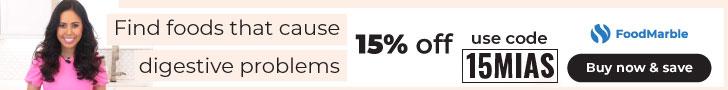 FOODMARBLE DISCOUNT CODE 15MIAS 15% OFF