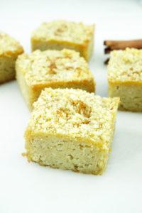 Cinnamon Sugar Cookie Crumble Blondies