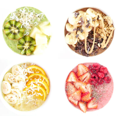 Smoothie Bowl 4 Ways