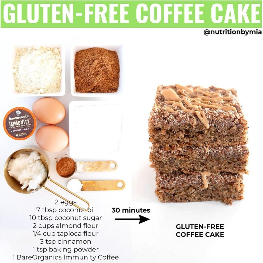 bareorganics immunity coffee cake
