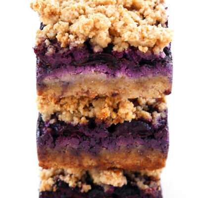 Blueberry Lemon Breakfast Squares