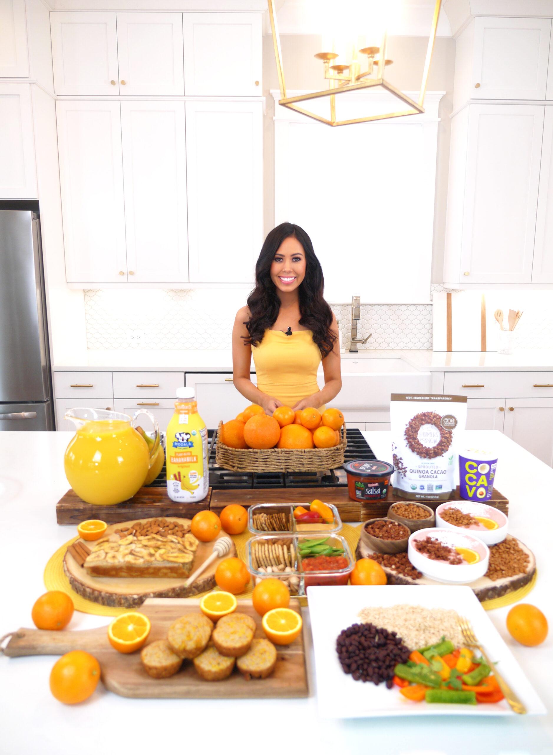 Mooala, One Degree Organics, Cocavo, Fresh Cravings Salsa, Florida 100% Orange Juice