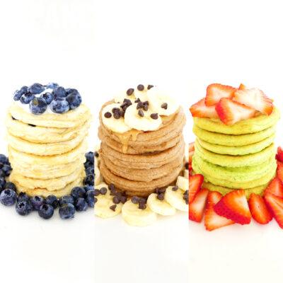Protein Pancakes 3 Ways