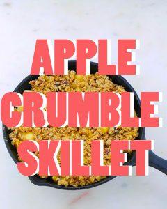 Apple Crumble Skillet