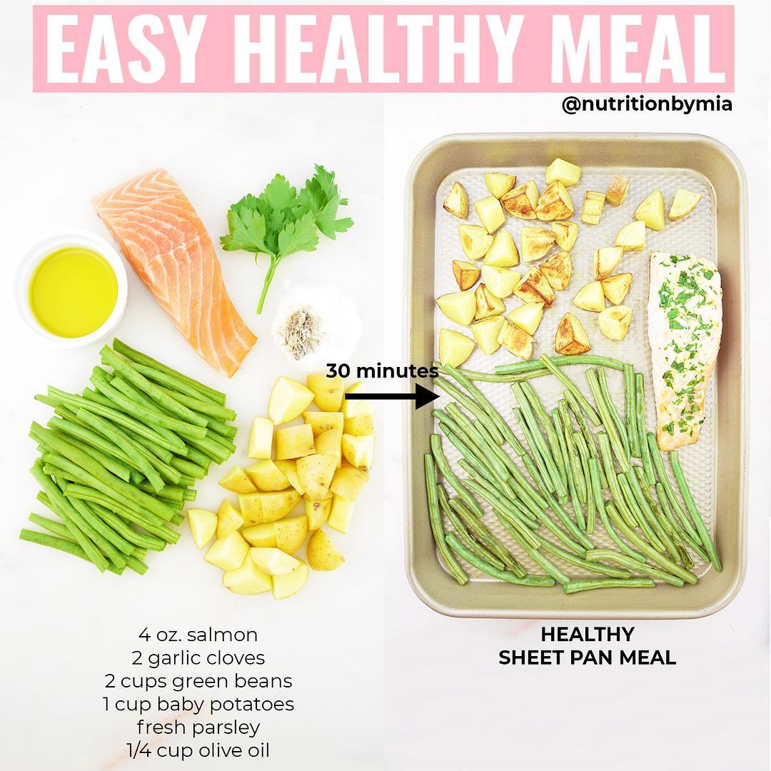healthy sheet pan