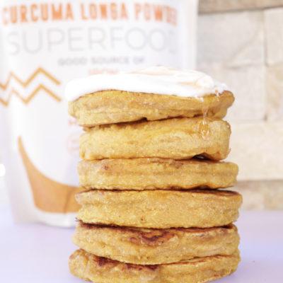 Golden Milk Pancakes