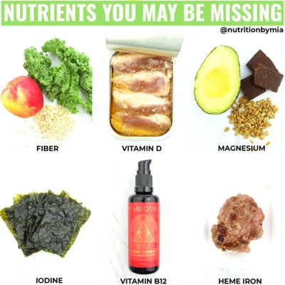 Nutrients You May Be Missing