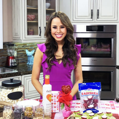 CBS, Las Vegas: Host a Healthy Galentine's Day
