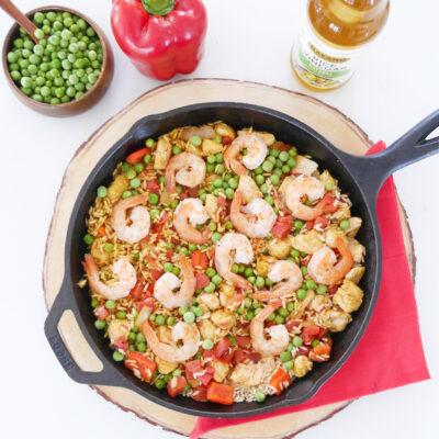 Asian-Inspired Spanish Paella