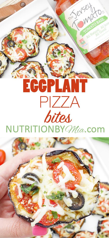 The Jersey Tomato Co. Eggplant Pizza Bites