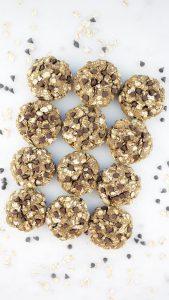 Dark Chocolate Chip Oat Breakfast Cookies
