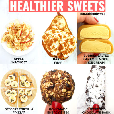 Six Better Sweet Snacks