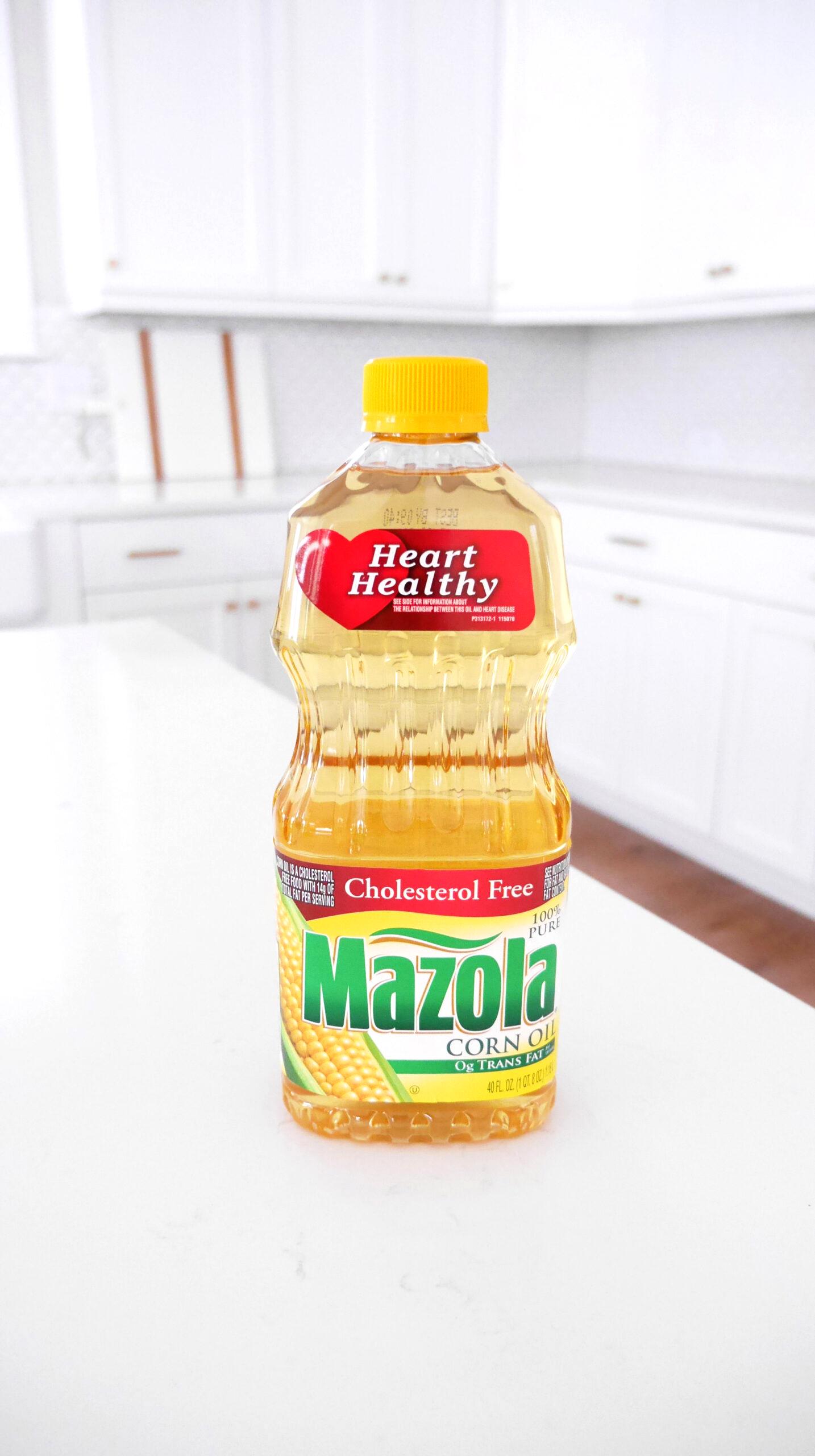 heart healthy Mazola Corn Oil