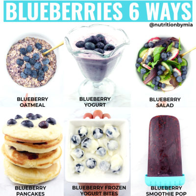 Blueberries 6 Ways