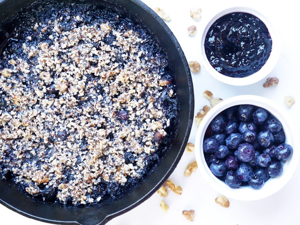Blueberry Crumble Skillet Rigoni di Asiago