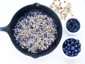 Blueberry Crumble Skillet
