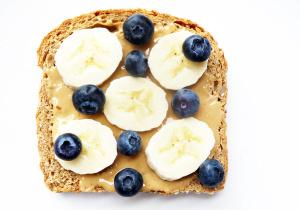 Blueberry Banana Toast