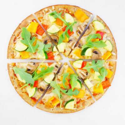 Paleo Cauliflower Crust Pizza
