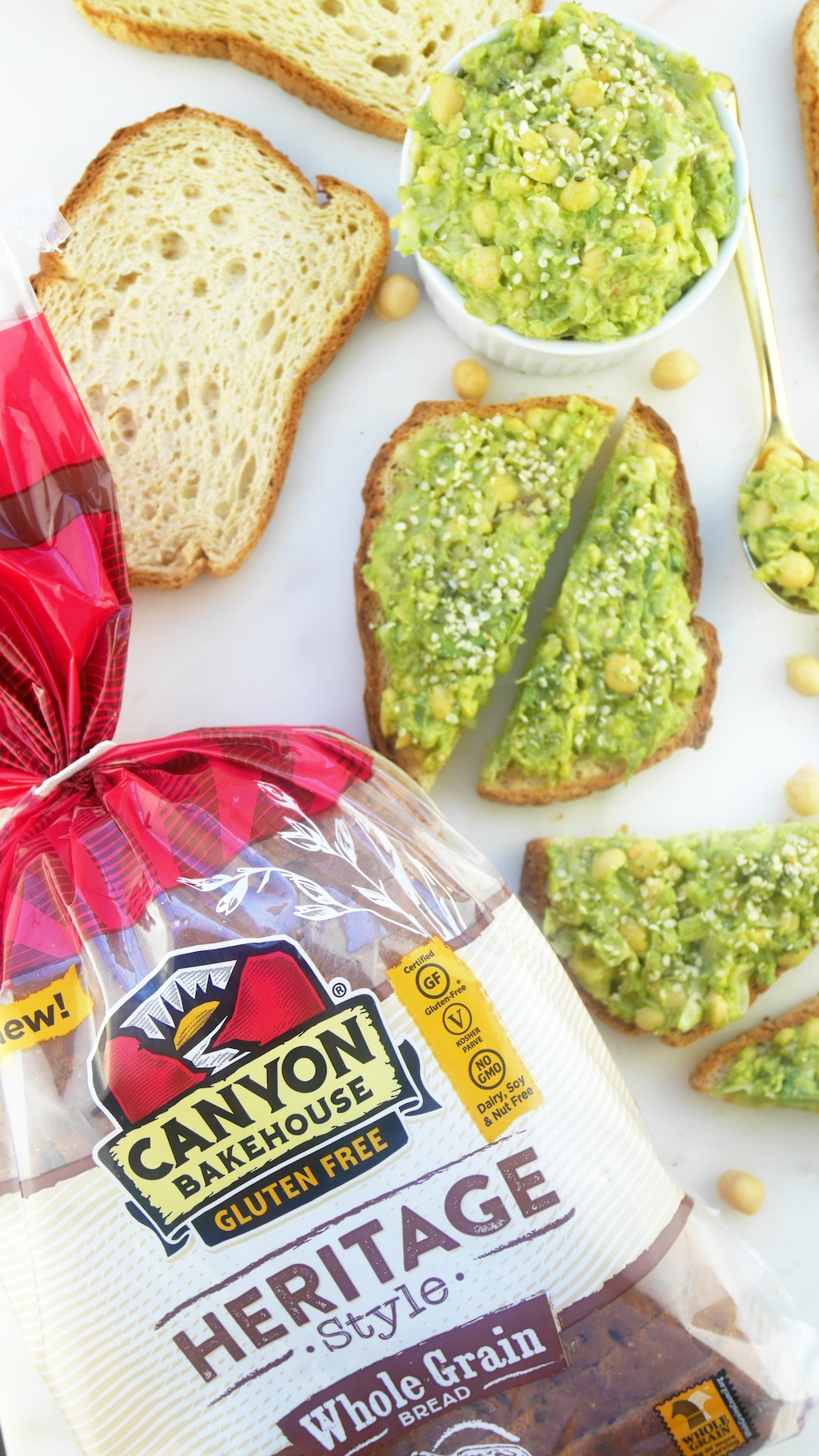Canyon Bakehouse Gluten-Free Avocado Toast