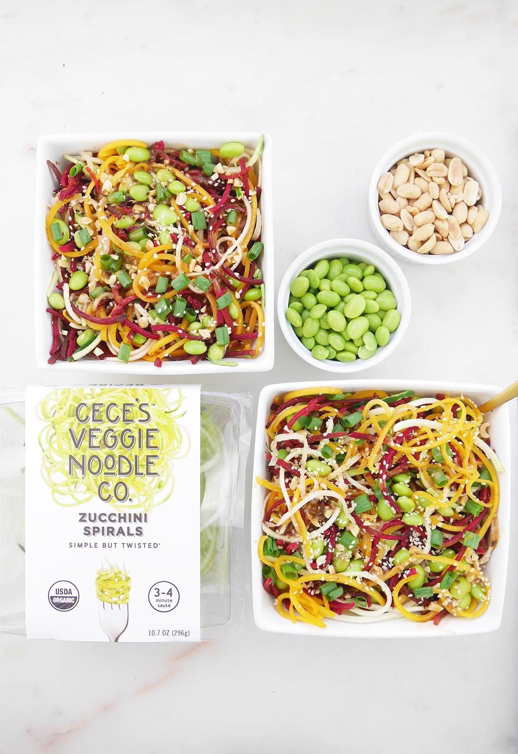 Cece's Veggie Co. organic zucchini, beet, butternut squash spirals