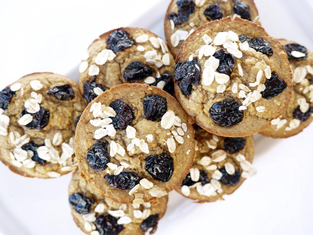Cherry Oat Muffin