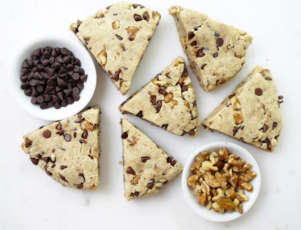 Chocolate Chip Walnut Scones