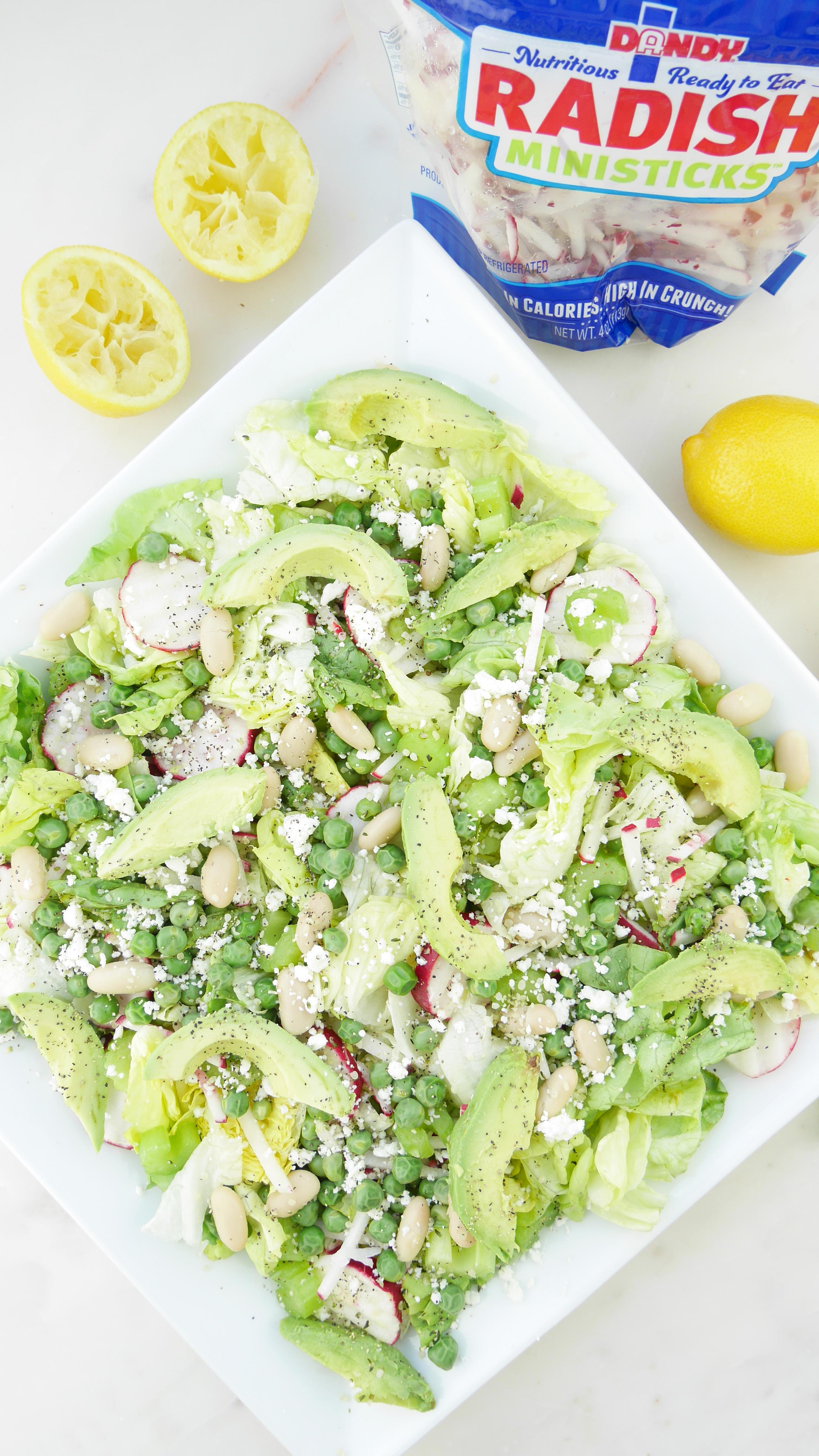 Dandy Fresh Produce Radishes Celery Salad