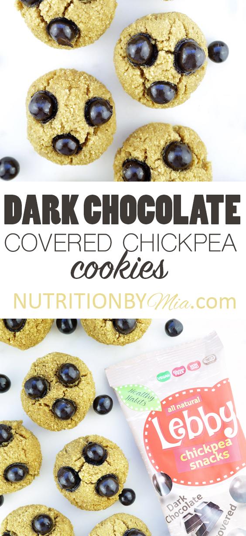 Dark Chocolate Chickpea Spooky Bites Lebby Snacks