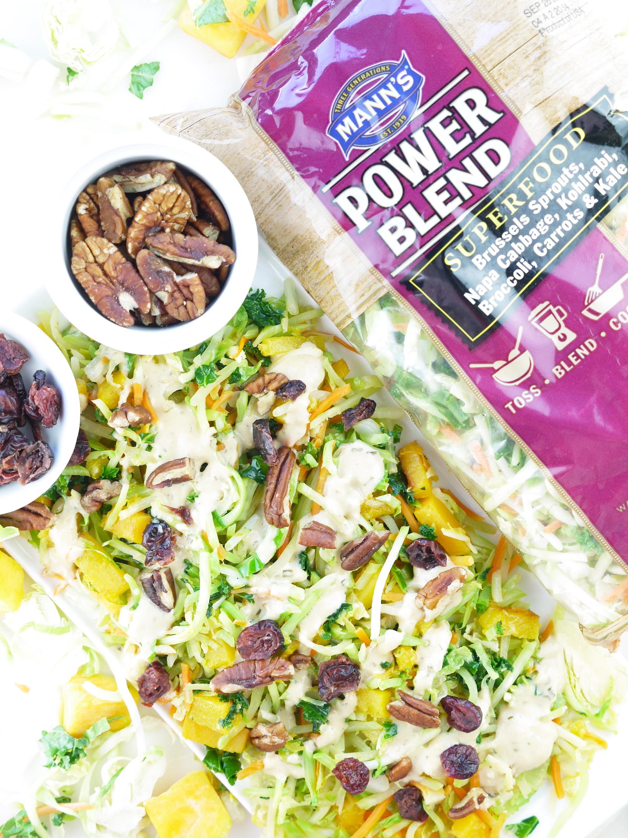 Warm Fall Salad Manns Power Blend