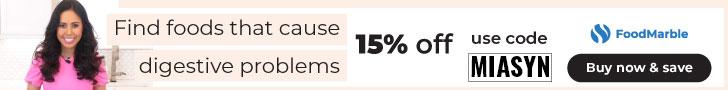 FOODMARBLE DISCOUNT CODE MIASYN 15% OFF