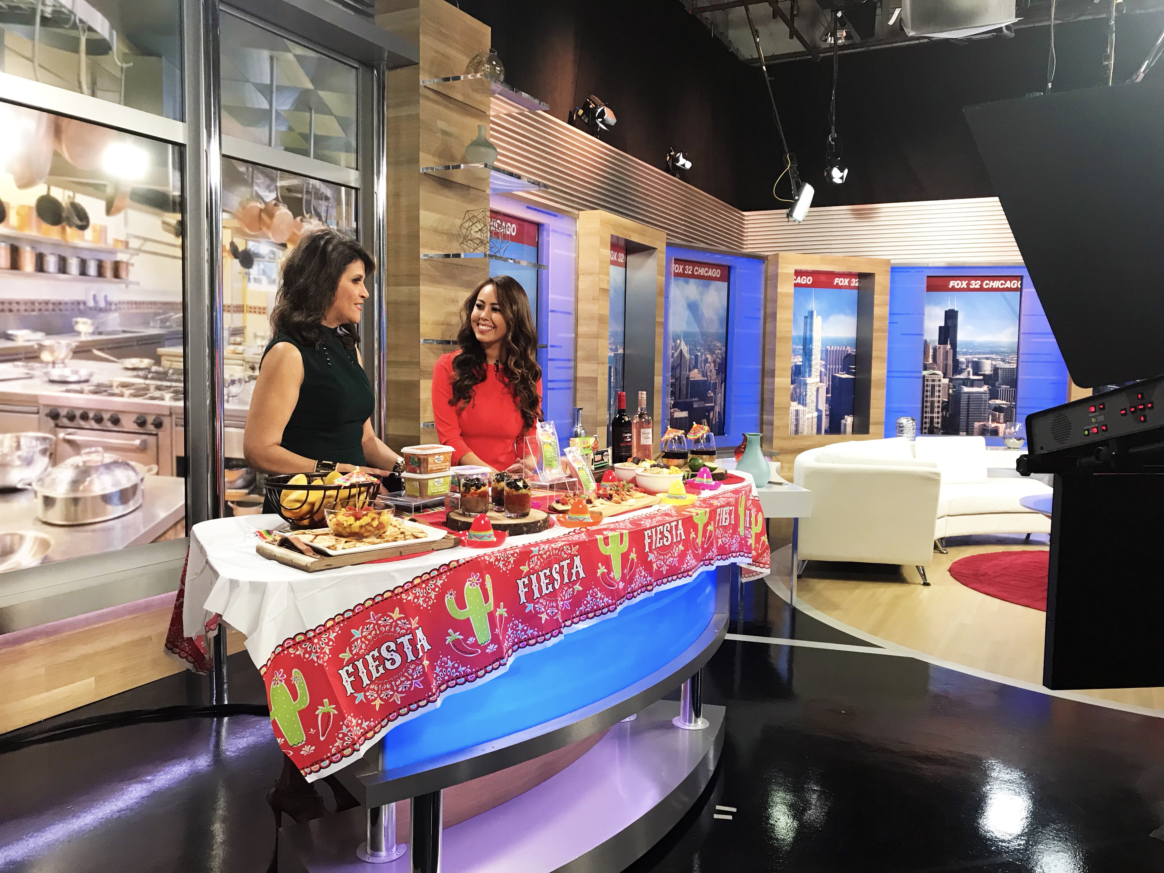 Registered Dietitian, Mia Syn, healthy Cinco de Mayo, fox chicago, Better Bean, Laura's Lean, Cabot Cheese, Casillero del Diablo's Red Blend and Mangos.