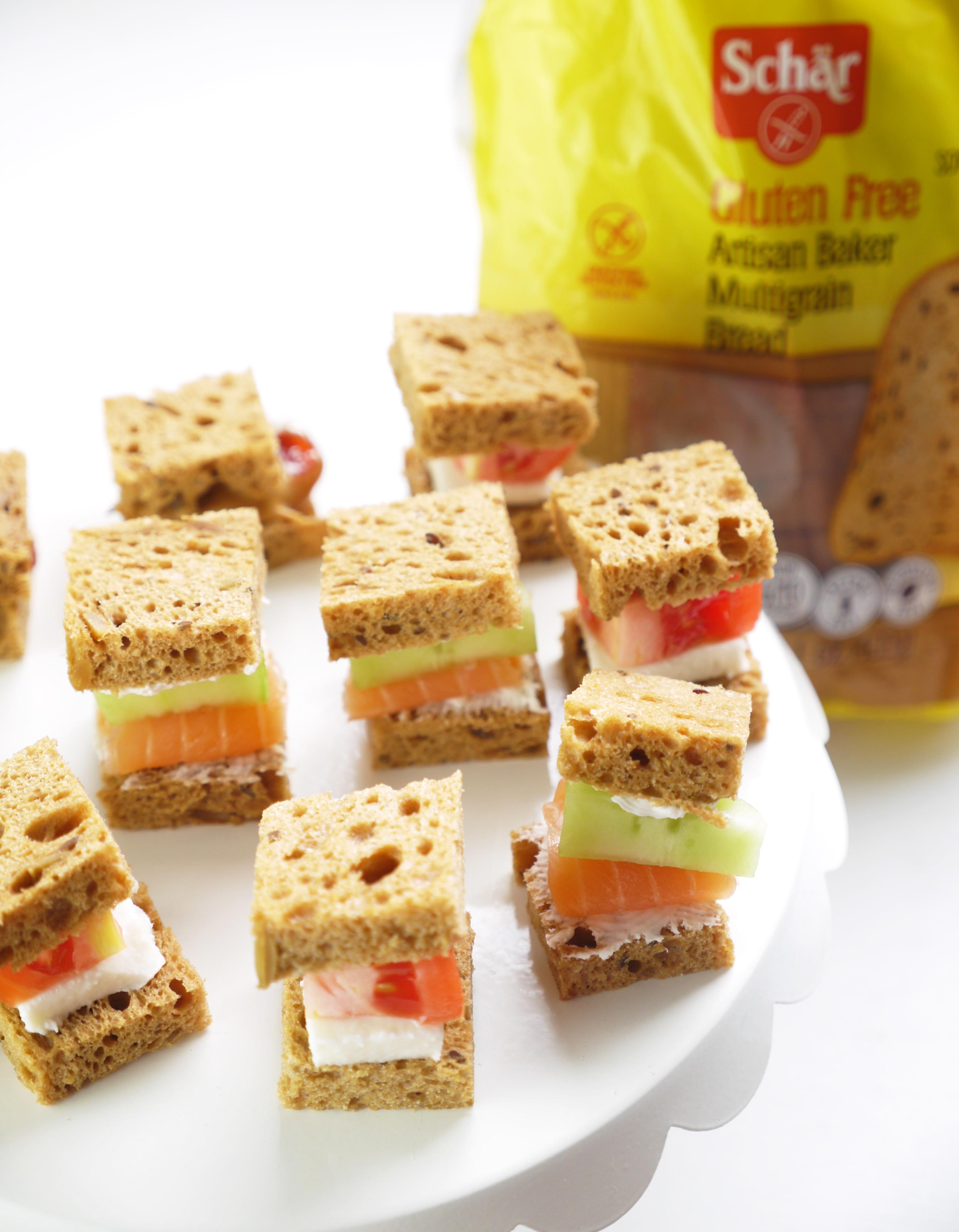 Schar Gluten Free Finger Sandwich