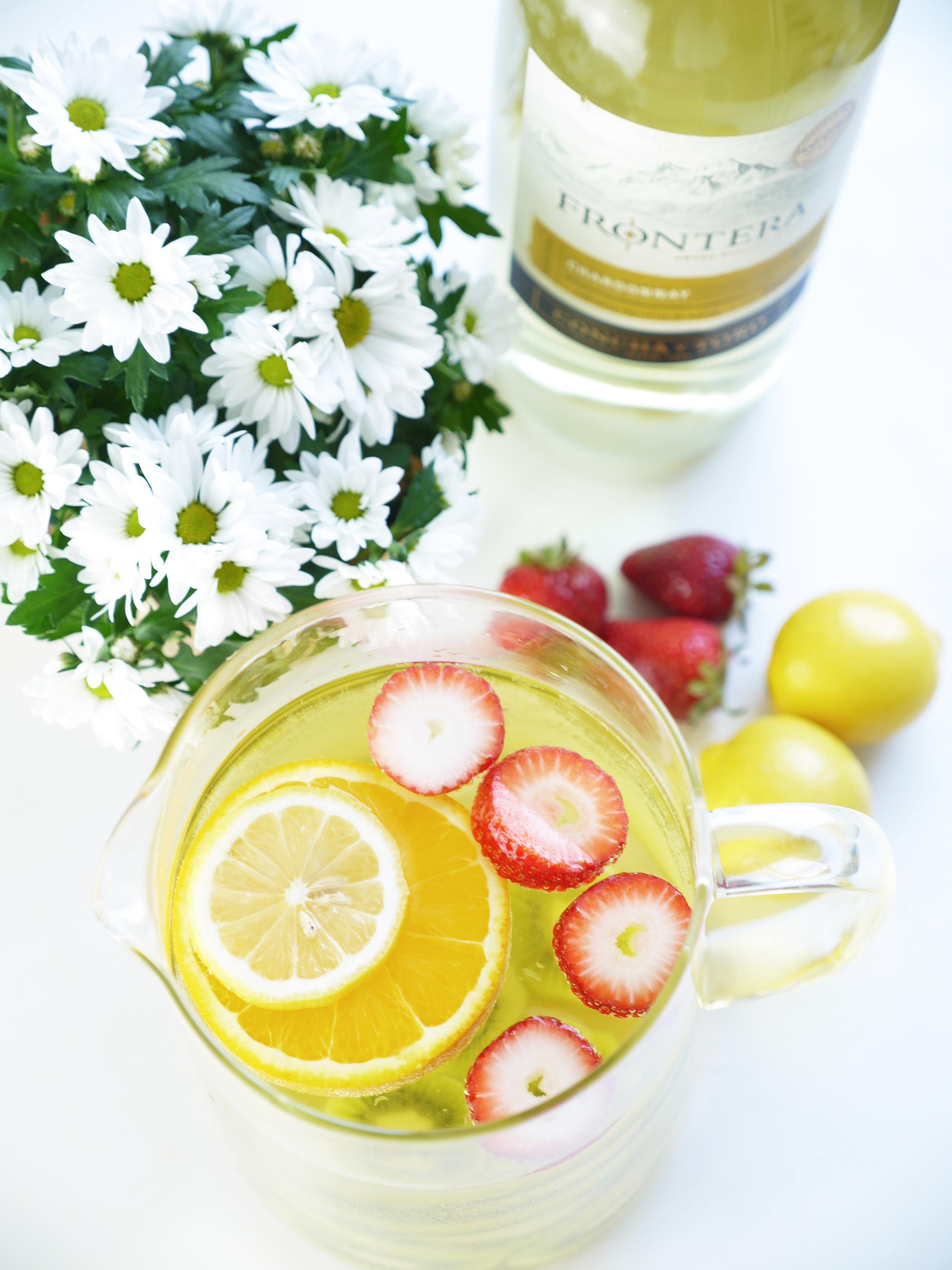 Spring Sangria Recipe — Dishmaps