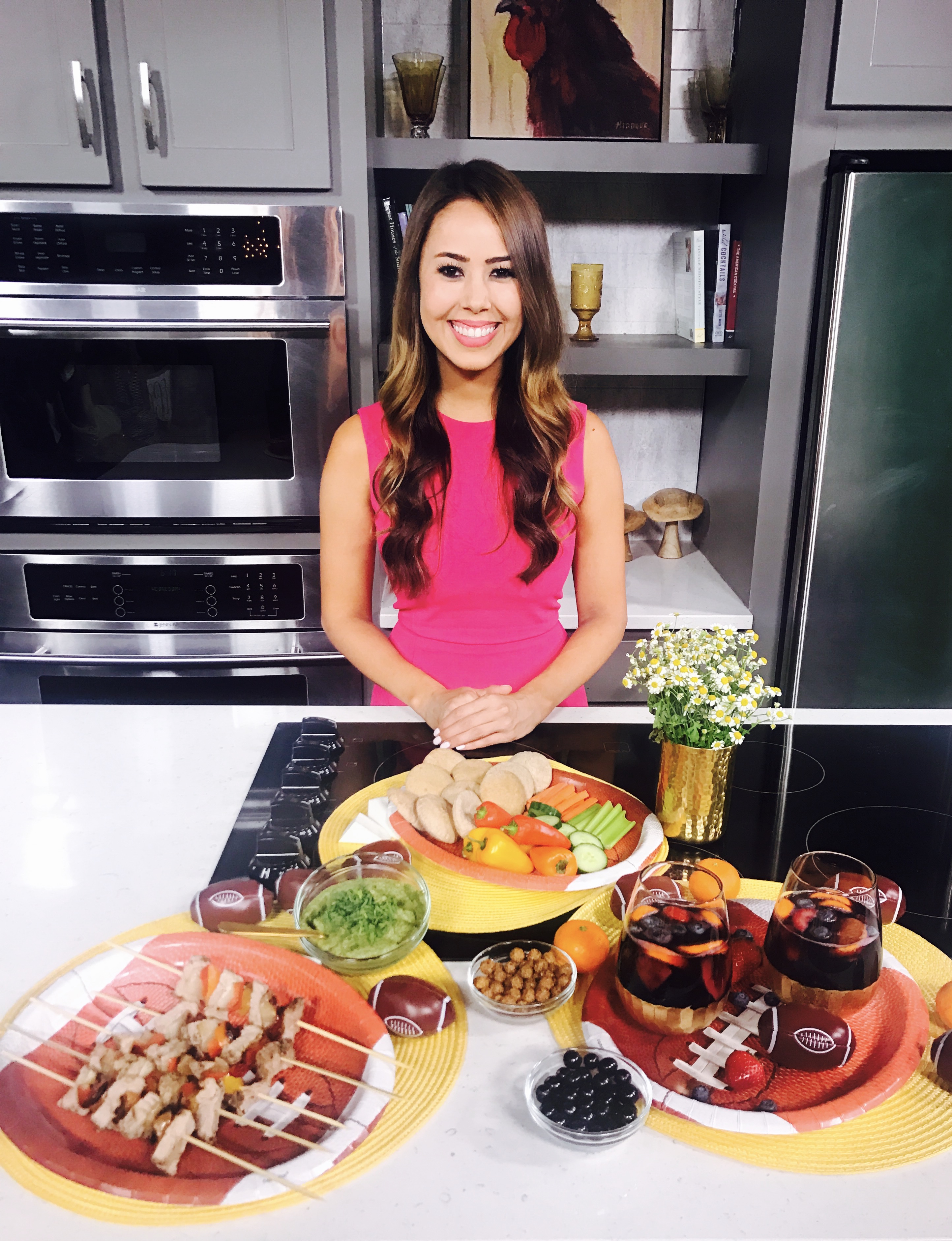 TV Registered Dietitian Nutritionist Mia Syn Healthy Tailgate