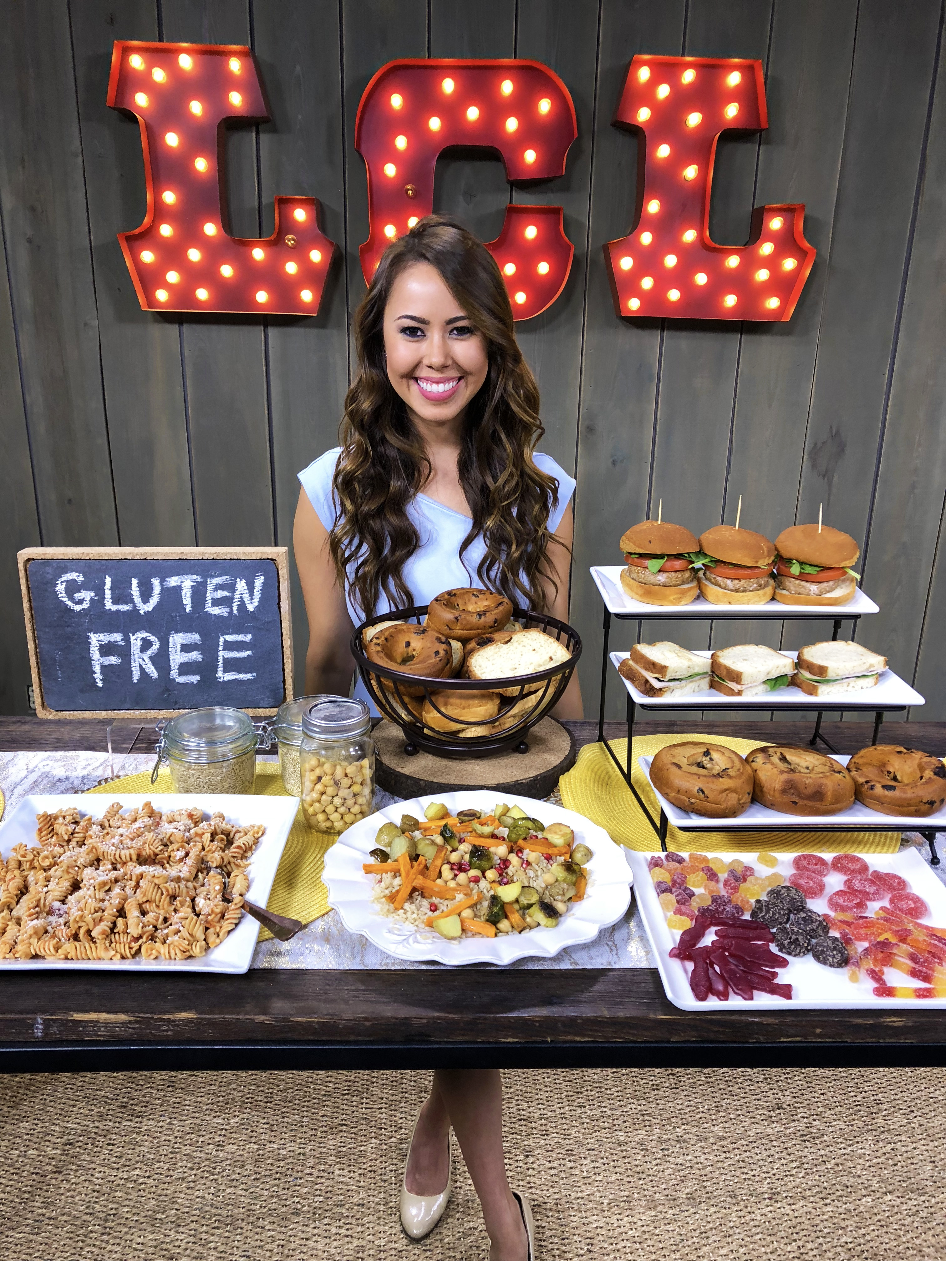National Gluten Free Day ABC Dietitian Nutritionist TV Tolerant Legume Pasta, HunnyBon Sweets, Canyon Bakehouse, Dunya Harvest
