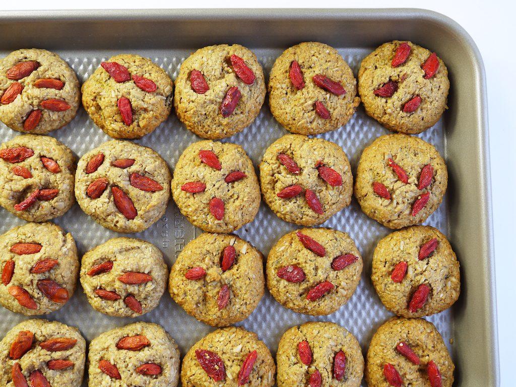 goji berry cookies