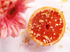 Broiled Summer Grapefruit