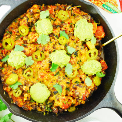 Cauliflower Burrito Bowl Skillet