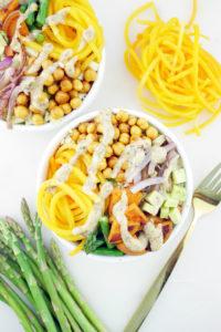 Rainbow Vegetable Buddha Bowls