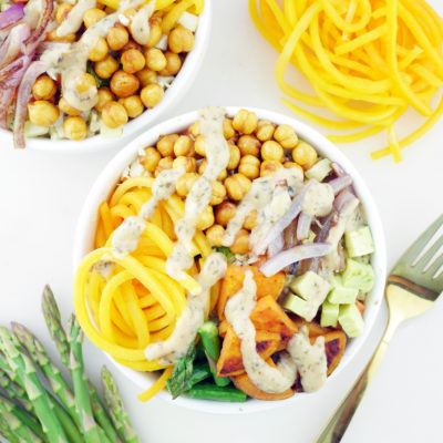 Rainbow Vegetable Buddha Bowls