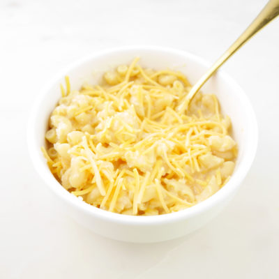 Creamy Cauliflower Mac n' Cheese