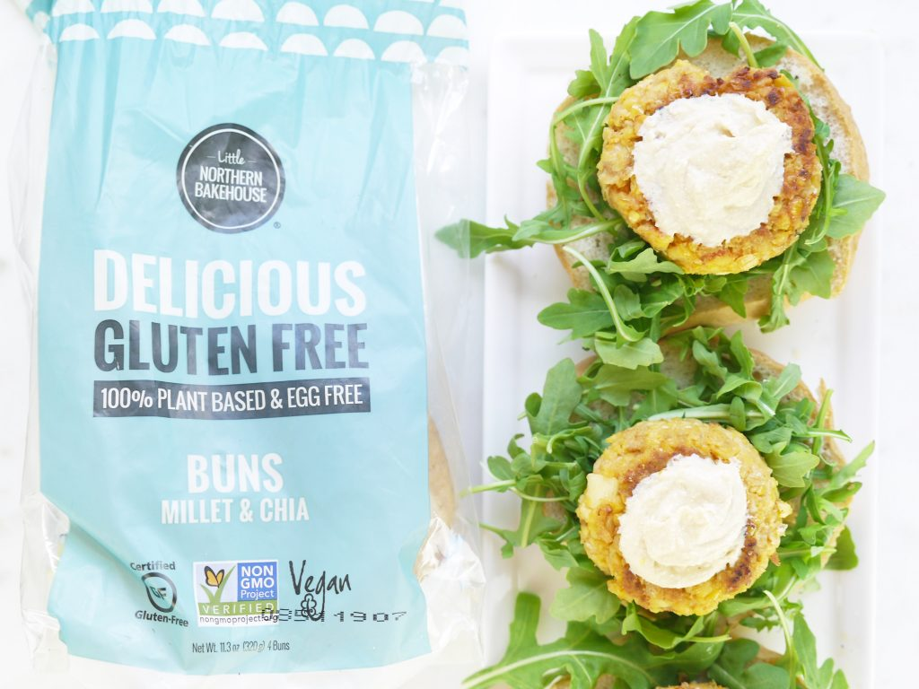 Chickpea Millet Chia Burgers Little Northern Bakehouse