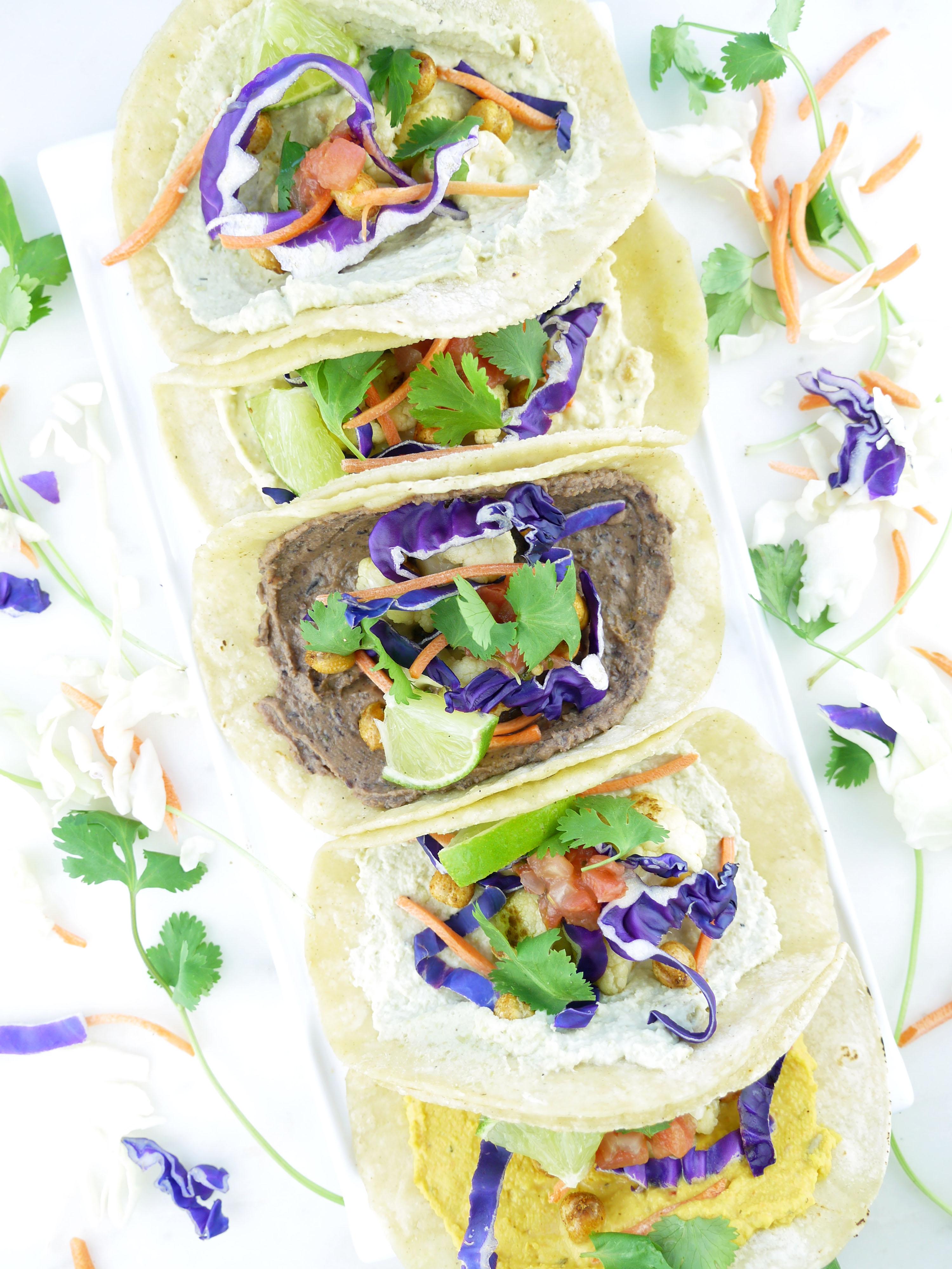 Vegan Hummus Tacos Lantana Hummus